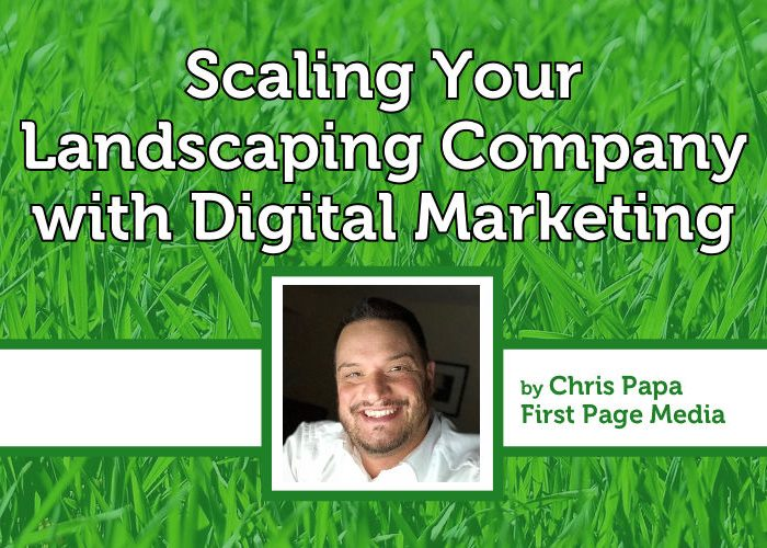 Scaling Your Landscape Company With Digital Marketing